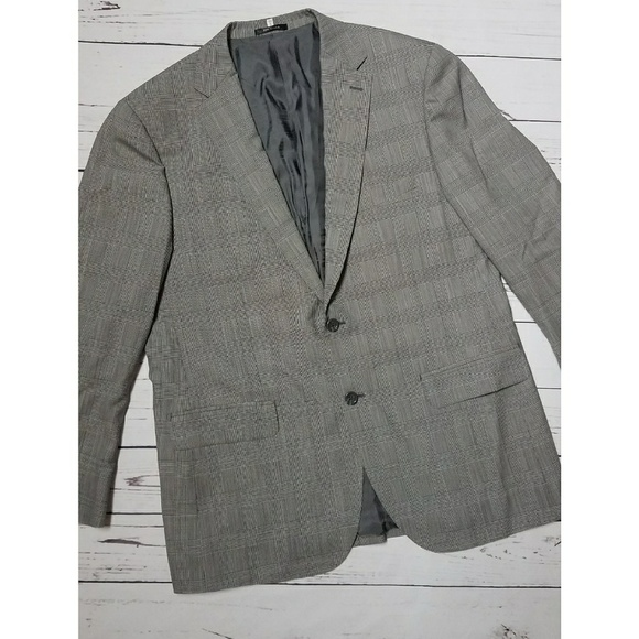 Learned Bartorelli Napoli Wool Black Pin Stripe Suit Size 52 Clothing, Shoes & Accessories Suits & Suit Separates